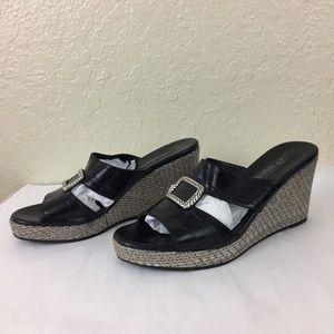 Moving Sale 💕 Brighton Devon wedge slip on shoes